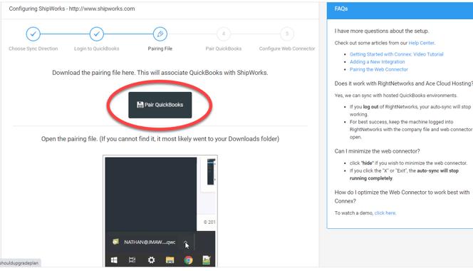 download pairing file QBD-1
